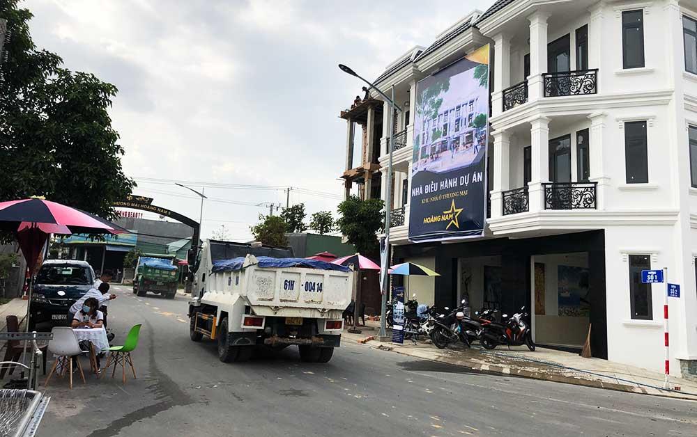 Dự án nhà phố Hoàng Nam 5 Đông Sài Gòn