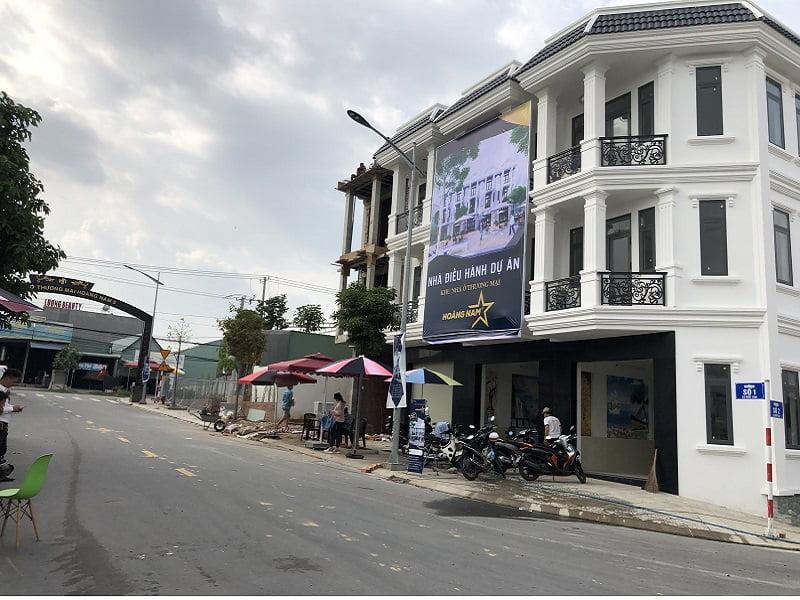 Dự án nhà phố Hoàng Nam 5
