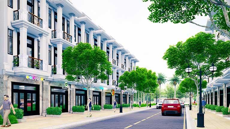 Nhà phố Hoàng Nam 5 - Hoàng Nam Group