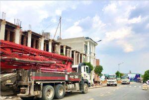 Tiến độ xây dựng nhà phố Hoàng Nam 5