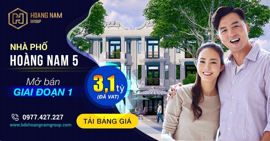 Hoàng Nam 5 - Tải Bảng Giá