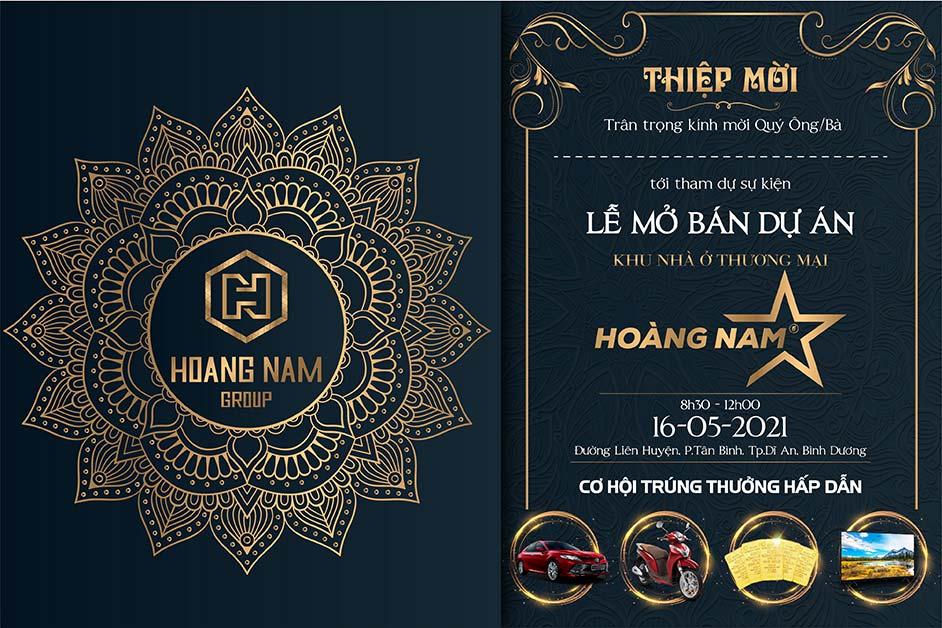 Lễ mở bán dự án khu nhà ở thương mại Hoàng Nam 5