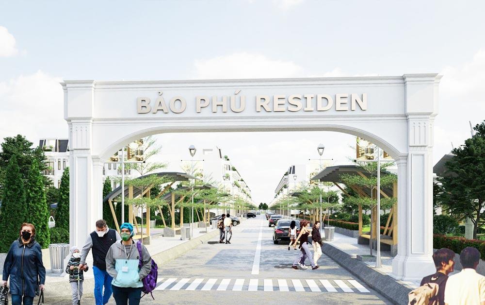 Cổng chào khu dân cư