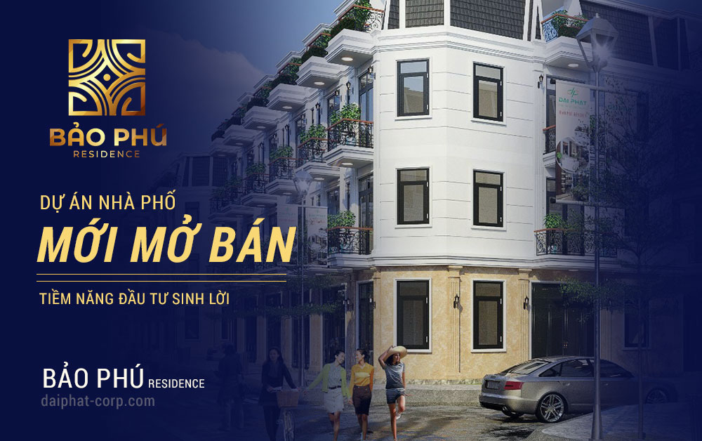 Nhà phố mới mở bán tại Q12 - Bảo Phú Residence