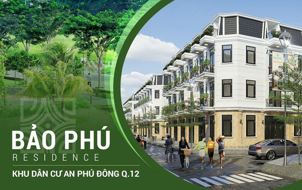 Khu dân cư Bảo Phú Residence - Nơi bình yên nhất Quận 12