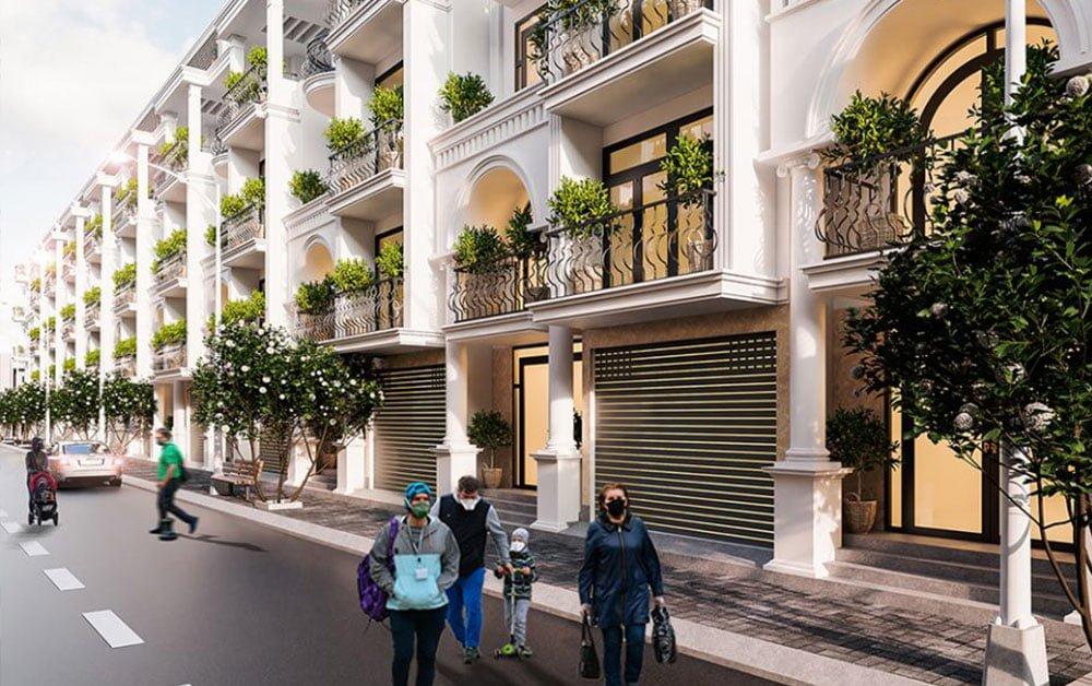 Thiết kế nhà phố Bảo Sơn Residence