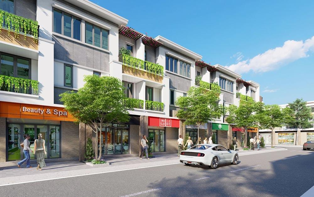Thiết kế nhà phố Lavela Garden