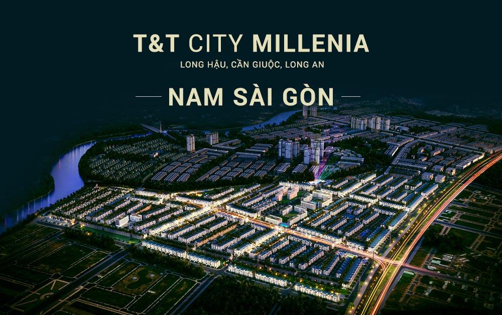 T&T Thái Sơn Long An - Dự án Millennia City Long Hậu Cần Giuộc