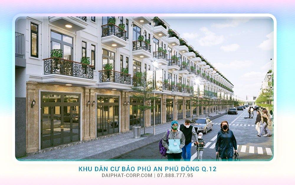 KDC Bảo Phú An Phú Đông Quận 12